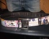 Custom Boys Hockey Belt-