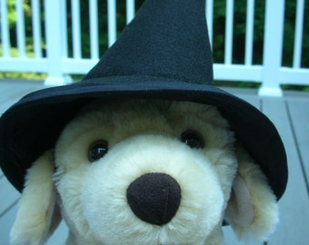 Dog Halloween Witch Hat, Dog Costume, Hats for Dogs