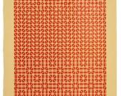 Letterpress Dice Print - Delta Ursae Majoris