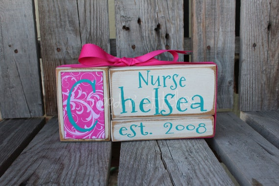 Personalized Established Name Family Block Set sign wood block set christmas teacher wedding graduation anniverysary birthday nurse gift