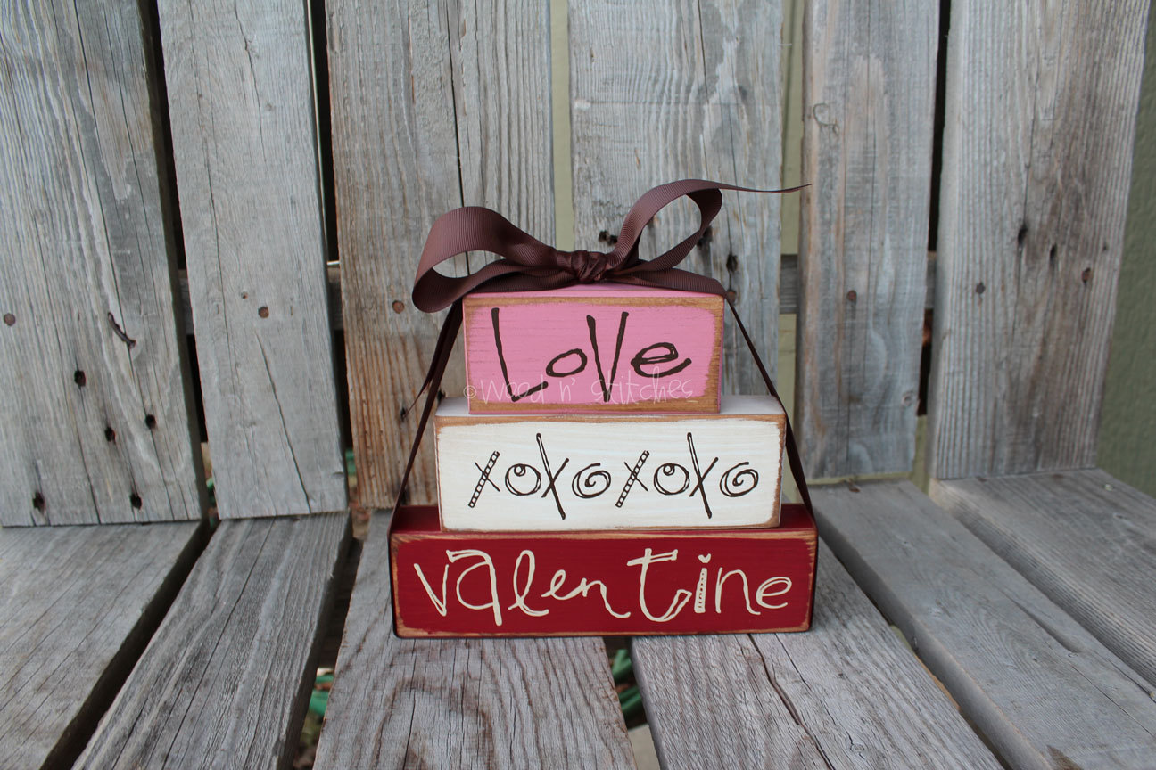 Wall Colour Inspiration: Valentines Day Decor . . . Love And XOXOXO