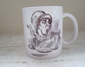 The Mad Hatter Mug (from Alice in Wonderland)