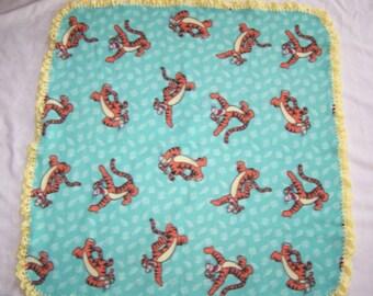 Tigger Fleece with Crochet Trm