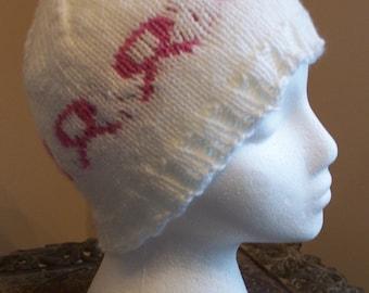 """Chemo Pink """"WARRIOR"""" Hat"""