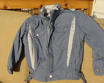 Vintage 1980s Mario di Firenze denim jacket size 4t for kids boy girl