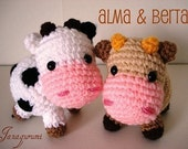 Amigurumi Pattern Little cows - PDF