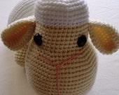Amigurumi Pattern Lenny, the big lamb PDF