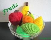 Amigurumi Fruits Crochet Pattern PDF