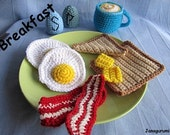 Breakfast Amigurumi Crochet Pattern PDf