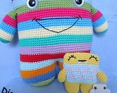 Monstar-Theme-Set 3 Crochet Pattern PDF