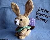 Little Bunny Hop Amigurumi PDF Crochet Pattern
