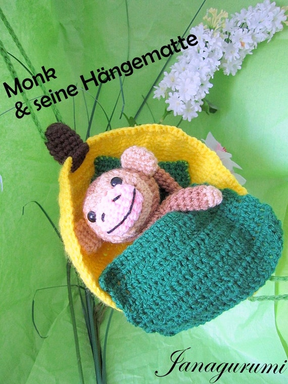 Amigurumi Monkey Etsy : Amigurumi Monkey PDF crochet instructions by Janagurumi on ...