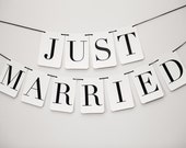 Just Married Banner: Double Strand