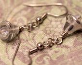 Silver Bells Earrings - Christmas Earrings, Xmas Earrings, Holiday Earrings, December Earrings, Winter Earrings, CLEARANCE 50% OFF