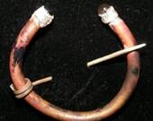 Copper Penannular brooch