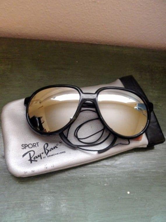 Authentic Ray Ban Arctic Cats Black Glacier Sunglasses - Originals