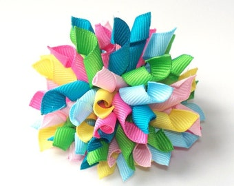 Perfect Pastel Large Korker Hair Bow