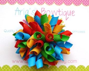 Tropic Carnival Korker Hair Bow