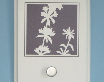 SALE: Herb garden motif with knob, plaque, decor, wall hook