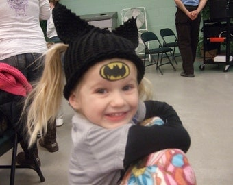 Halloween Bat Hat - Photography Prop - Daily Use - 12 months to 3 years