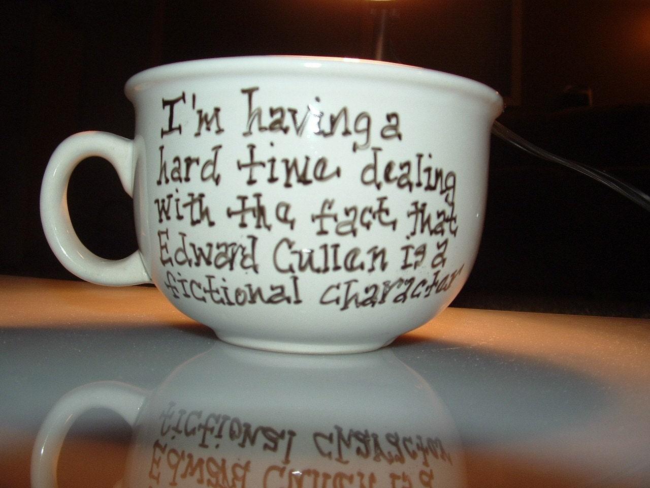 Edward Cullen Lovers Oversized Coffee Mug