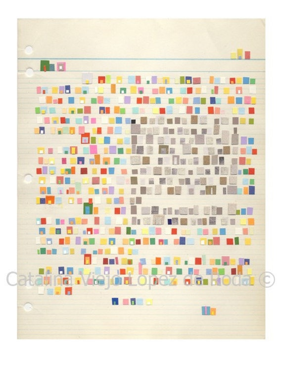 Letter to those who think outside the box collage reproduction print