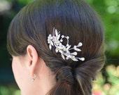 Vintage Rhinestone Brooch Bridal Haircomb by Jill's Boutique for Bride and Bridesmaid
