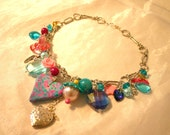 Swarovski and mixed vintage pieces choker necklace - The Powder Room
