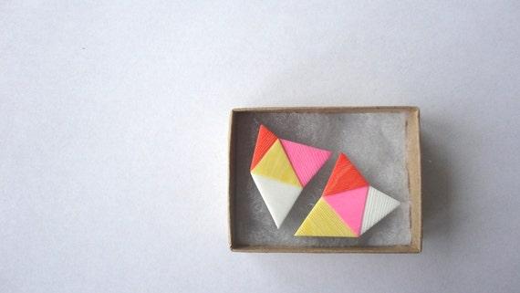 geometric pop earrings 1/4