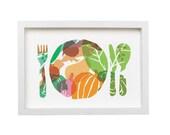 Bon appetit / Art for Kitchen - high quality fine art print