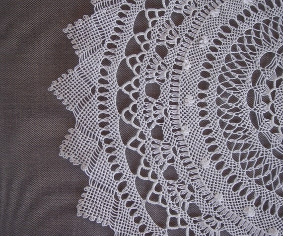 White Needle Lace Doily for your Home Decor Mother's Day Gift dreamt fresht teamspirit spteam teamdiscovery