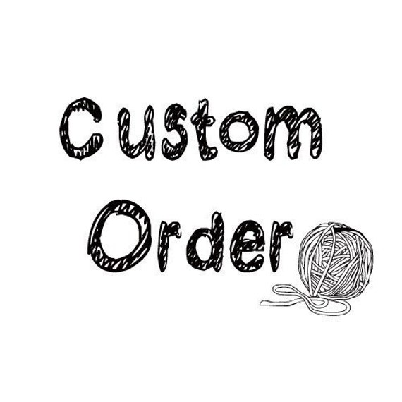 Custom Order for Cynthia