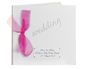 Classic Personalised Wedding Photo Album