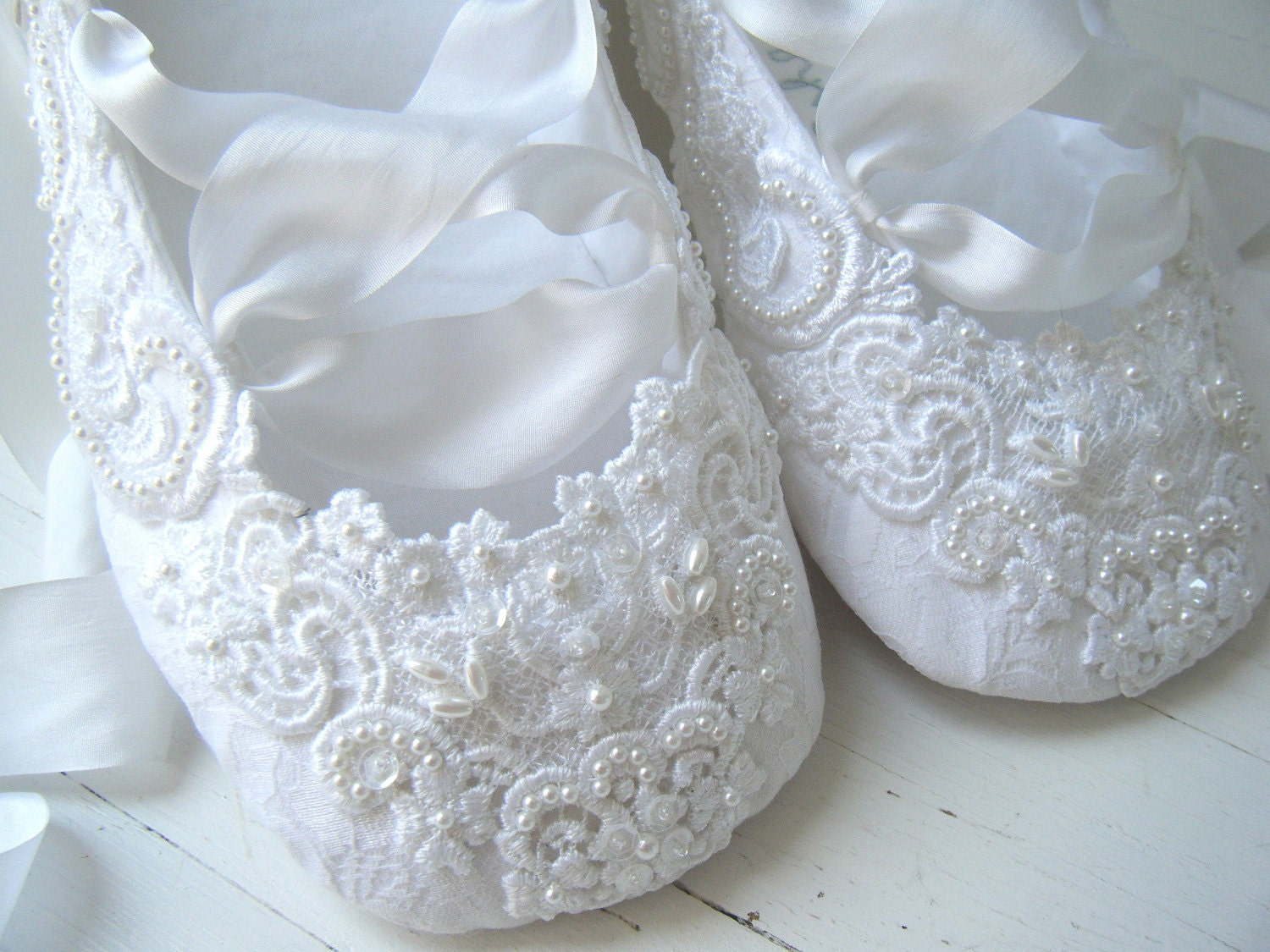 Stunning Lace Ballet Flat Wedding Shoes 1500 x 1125 · 366 kB · jpeg