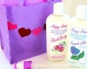 2 Jumbo Bottles Gift Set - Happy Hands Hand Cream for Knitters