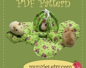 PDF Pattern - Miniature Hexagon Tent Set For Beanie Babies, Zhu Zhu's and Pocket Pets