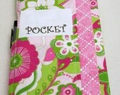 Easy to Sew Gift For A Friend Or Yourself - PDF Pattern - Three Pocket Paperback Book Cover - Standard And Tall Versions