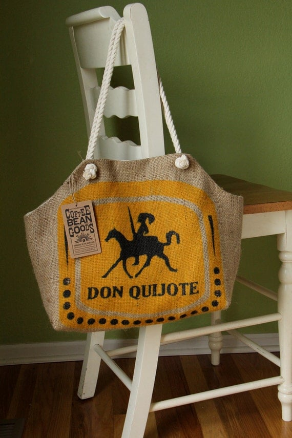 The Market Tote, Don Quijote Print