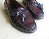 50% OFF sale 1980's tassel loafer. size 9 mens.  size 10 womens.