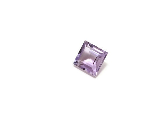 Genuine Amethyst 7x7x4mm Square cut 1.60ct