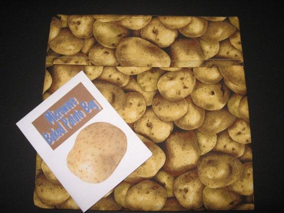 Microwave Baked Potato Bag