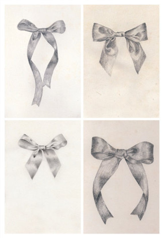 How To Draw A Tied Ribbon