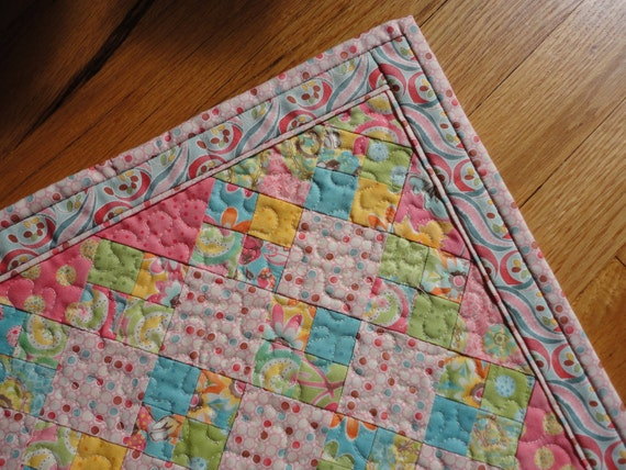 Patchwork Doll Quilt - Swanky by Moda