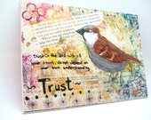 Original Painting - Trust - Sparrow