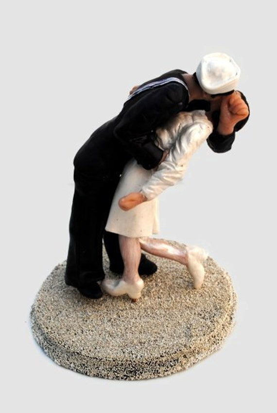nurse wedding cake topper items similar to sailor and custom wedding 17950