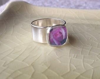Granger Rose - Adjustable Photograph Ring