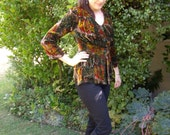 Vintage Velvet top or jacket