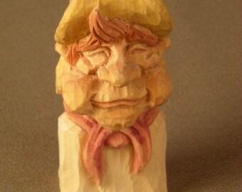 Boy Scout Sculpture, Home Decor, Scout, Wood Carving, Carvings, Boy Scout Carving, Boy Scout Gift, Scout carving, Eagle Scout Gift, Scouts