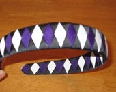 Baltimore Ravens Headband- custom for Amy