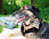 """Safety dog bandana reflective """"FLOWER"""""""